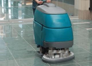 pulizie pavimenti macchinari