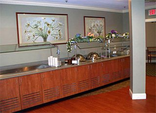 Buffet Room in Coburg Village - Saratoga Springs, NY