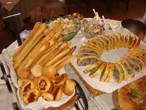 Aperitivo a buffet