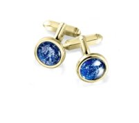 blue tribute earring
