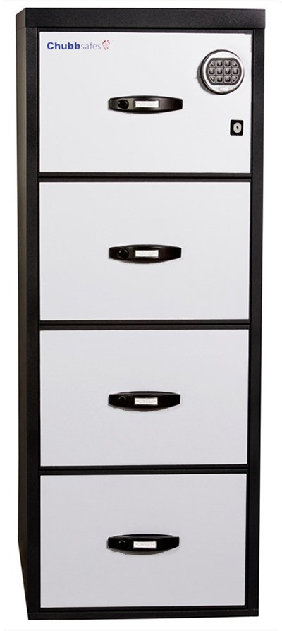 Askwith Safe Company chubbsafes profile executive 4 drawer