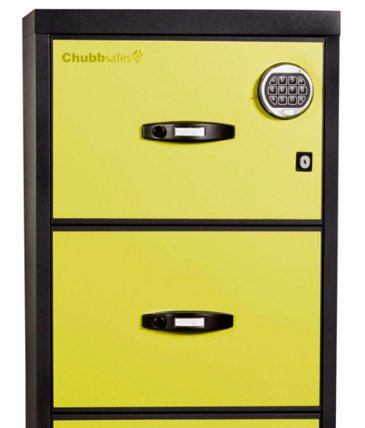 Askwith Safe Company chubbsafes profile executive 4 drawer filing cabinet