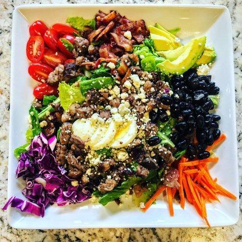 Rib Line Farmers Market Salad