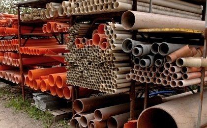vendita tubi edilizia