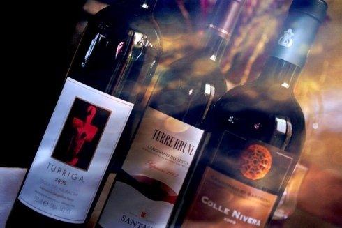 Carta dei vini sardi