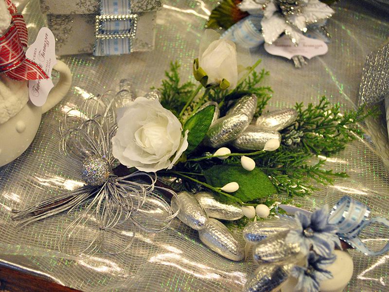 Bouquet natalizi con cioccolatini