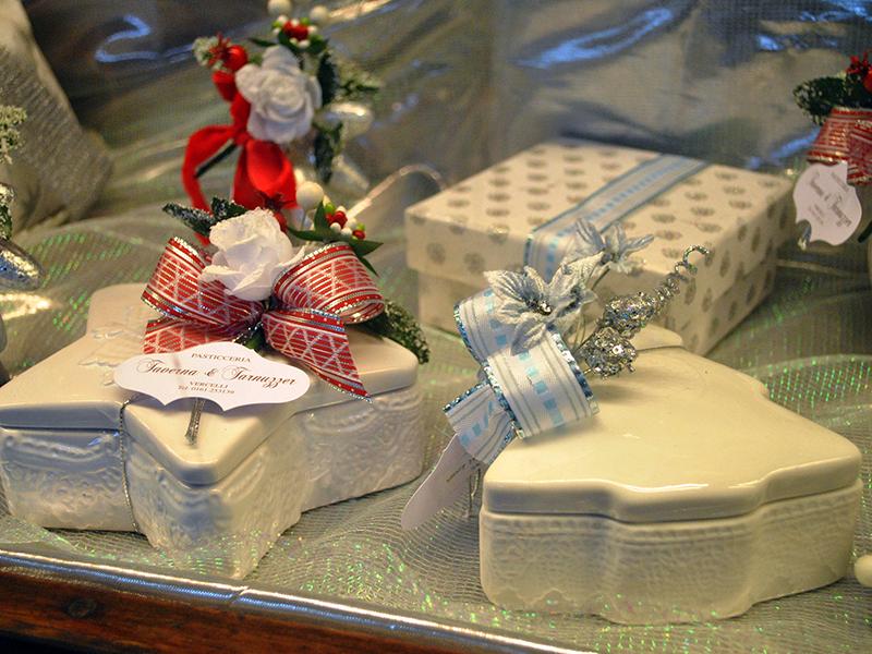 Confezioni natalizie in porcellana