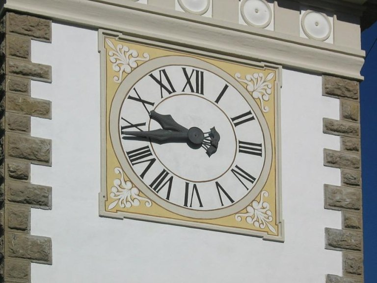 restauro orologio