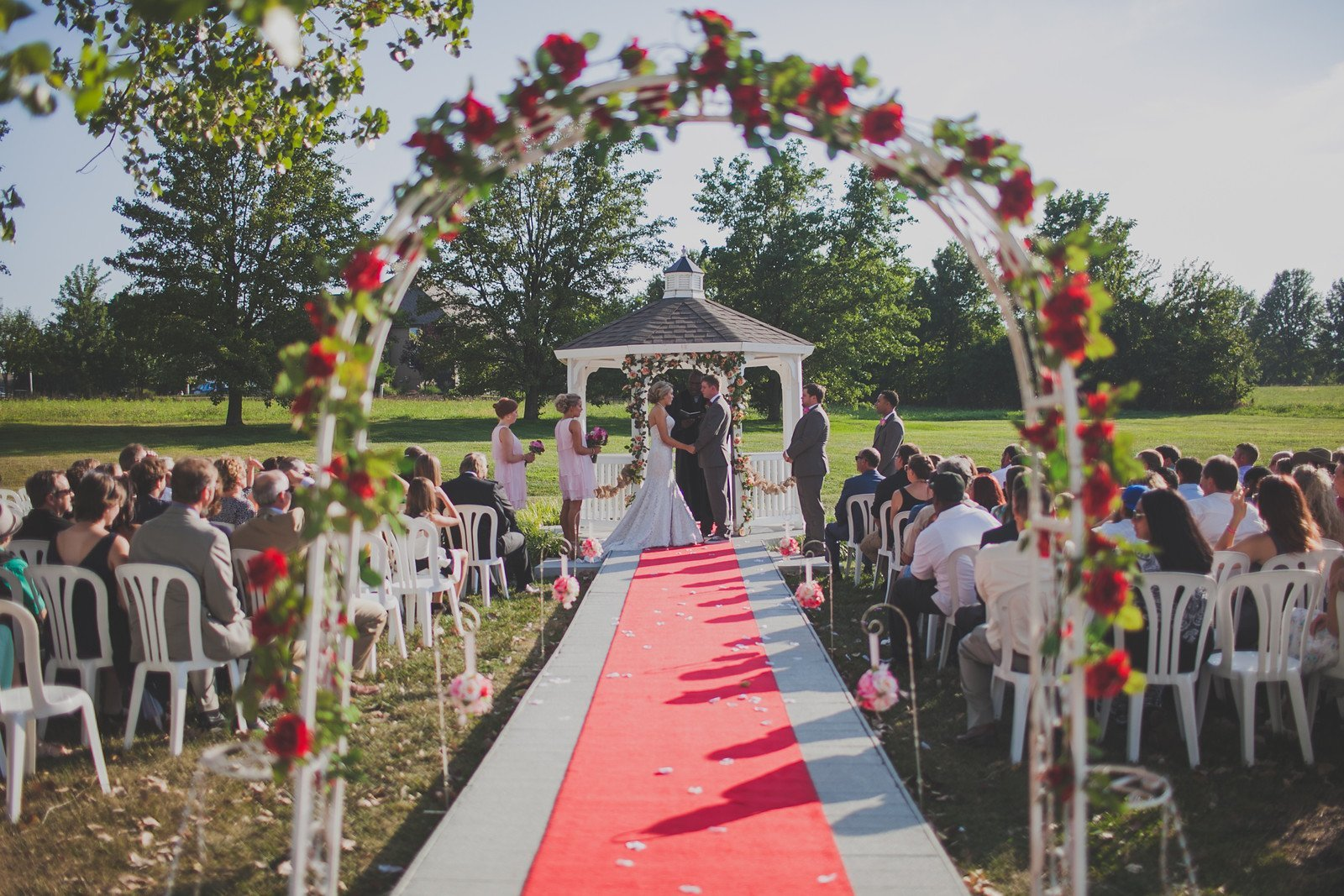 Outdoor weddings the pros cons junglespirit Images