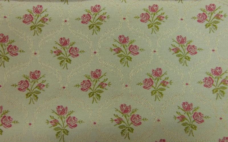 tessuto a fiori rosa