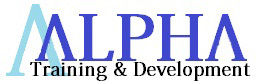 Alpha training & development logo