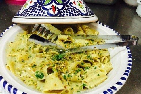 calamarata al pistacchio