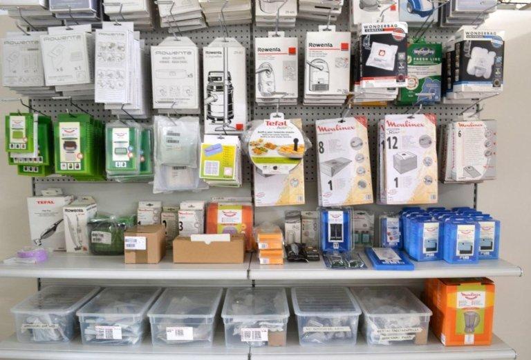 componenti di ricambio per elettrodomestici
