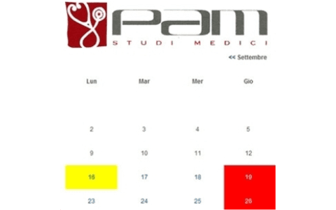 Prenotare una visita specialistica al poliambulatorio PAM