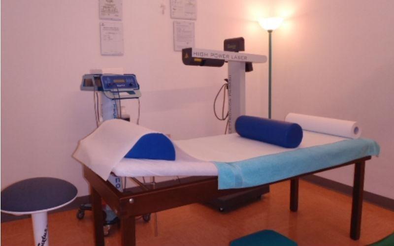 Box per erogazione di Laserterapia e Tecarterapia