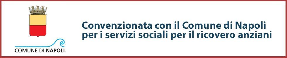 Convenzionata con il Comune di Napoli per i servizi sociali per anziani