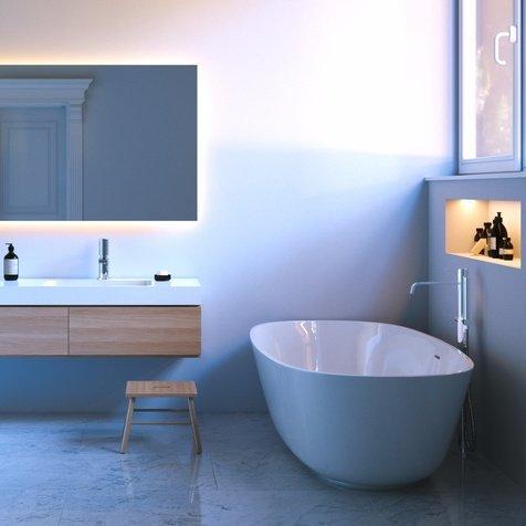 Tonalità e colori per il bagno: tutti i trend del 2017