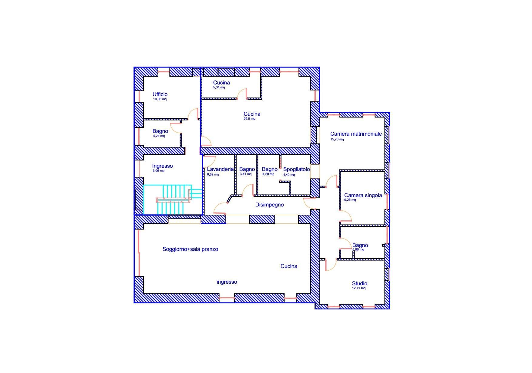 Planimetria di un edificio