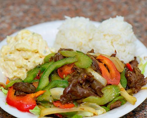 Hawaiian Pepper Steak