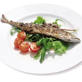 Portuguese food - Brixton, London - A Toca - grilled fish