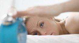 insonnia, disturbi del sonno