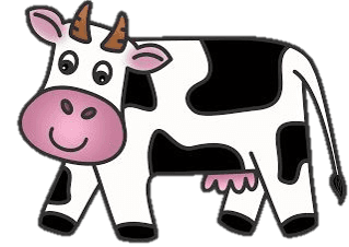 graphic of cow