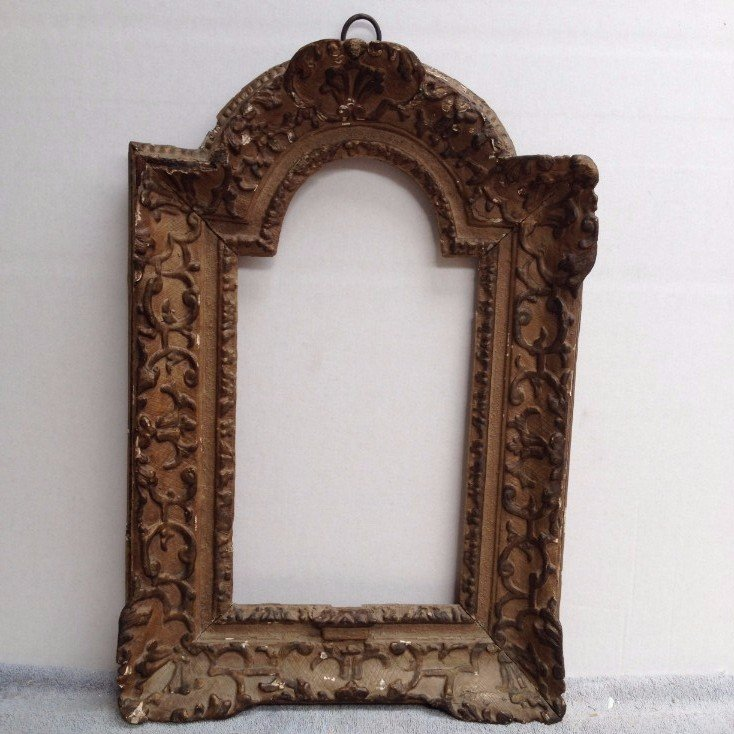 Louis XIV 18th century carved frame