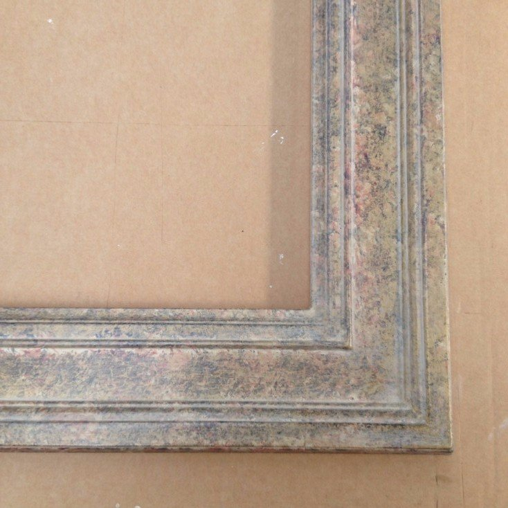 gesso frame with paint finish
