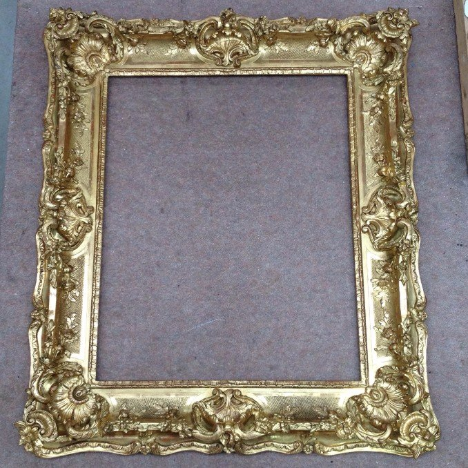 Louis XV 19th century swept frame