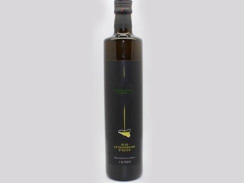 bottiglia olio extra vergine d