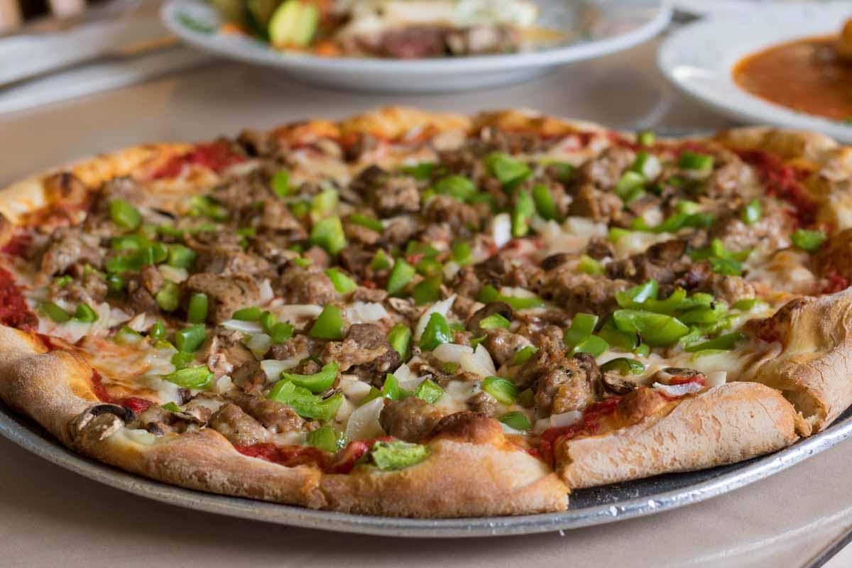 Ciao Ristorante Sausage Pepper Pizza