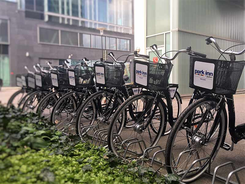 Hotell cykel Malmö