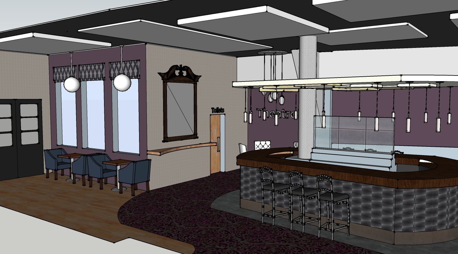 Caf Design And Pub From Spacekind Interior In