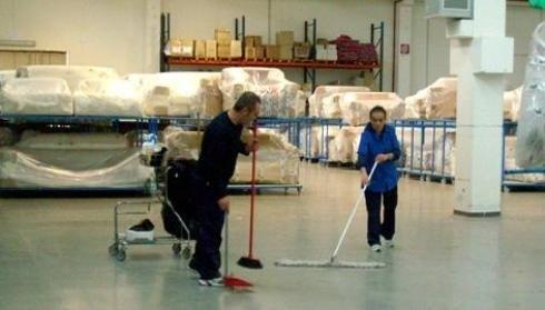 pulizie edifici industriali