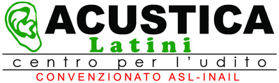 ACUSTICA LATINI CENTRO PER L'UDITO logo