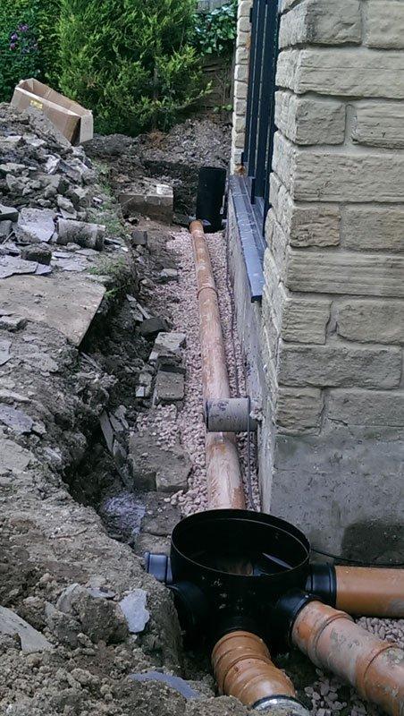 domestic drain lining