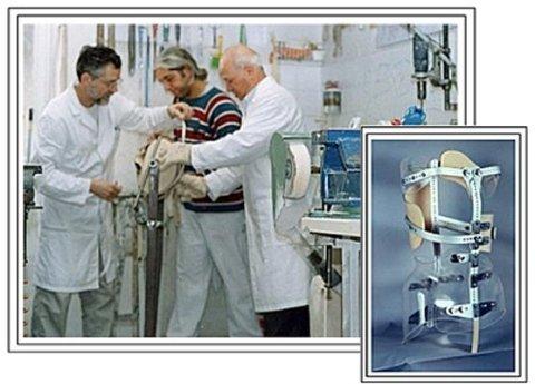 Realizzazione articoli ortopedici