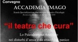 Istituto Imago - Il teatro che cura convegno napoli psicoterapia, pscilogia, nuove tecniche di psicoterapia