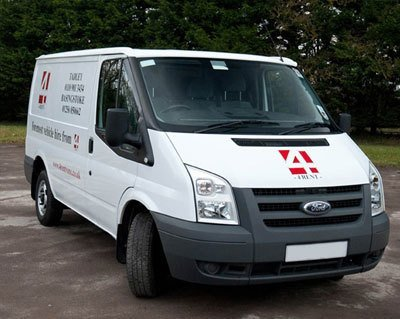 A close up of one of our vans for sale