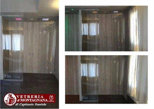 cabina doccia in vetro extra large