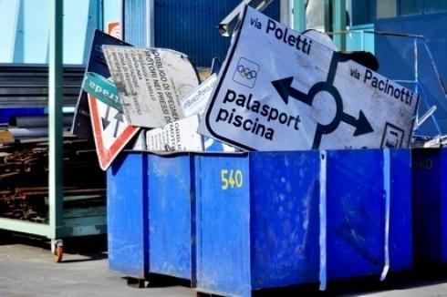 smaltimento rifiuti ferrosi