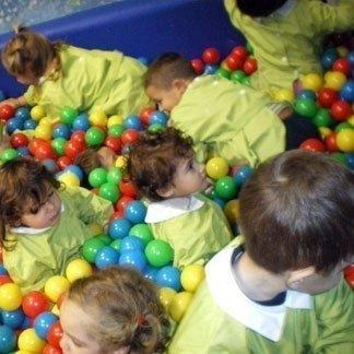 palle di plastica