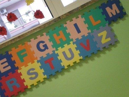 puzzle con lettere