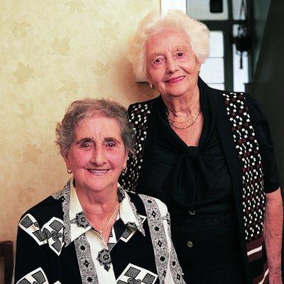 elderly ladies