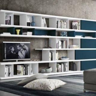libreria per salotto