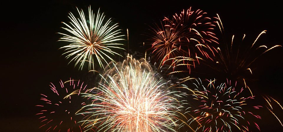 prom fireworks