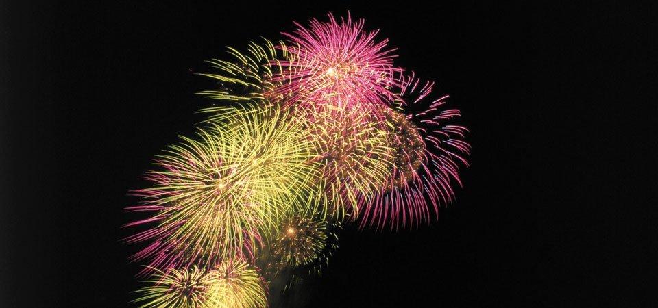customised fireworks