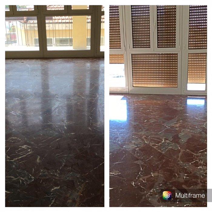 esempi di pavimenti lucidati