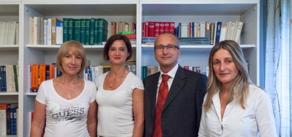 Staff dello studio legale Tartini