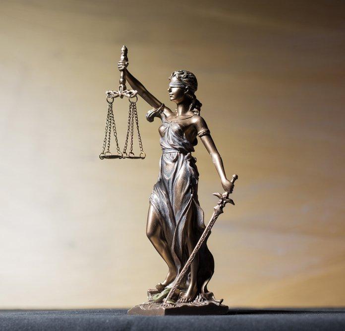 La dea della giustizia